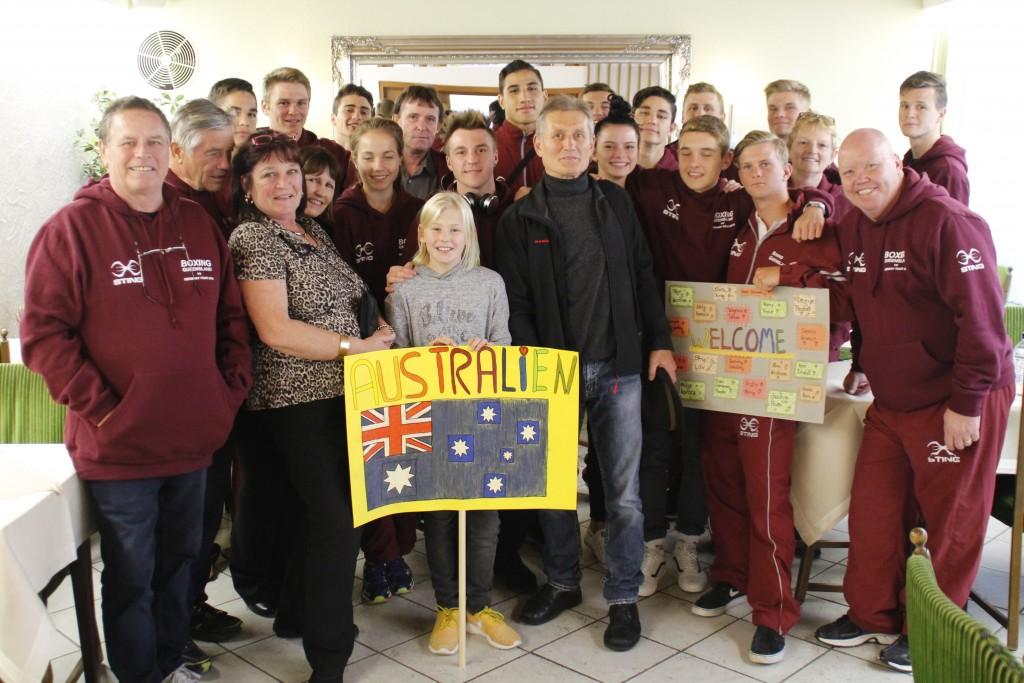 Australische Boxer  in Deutschland angekommenAustralische Boxer  in Deutschland angekommen