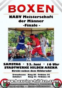 NABV Finale 2012 beim Boxring Hilden