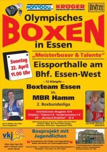 Olympisches Boxen in Essen