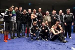 Deutscher Meister 2014 - Velberter BC Hanke 7. von links