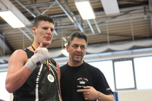NABV Meister Kemal Meziani mit Trainer Yoshi Avci