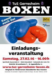 Plakat TuS Gerresheim