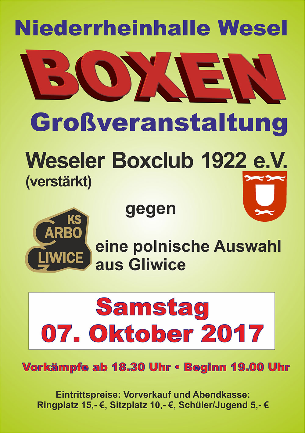 Boxen in Wesel