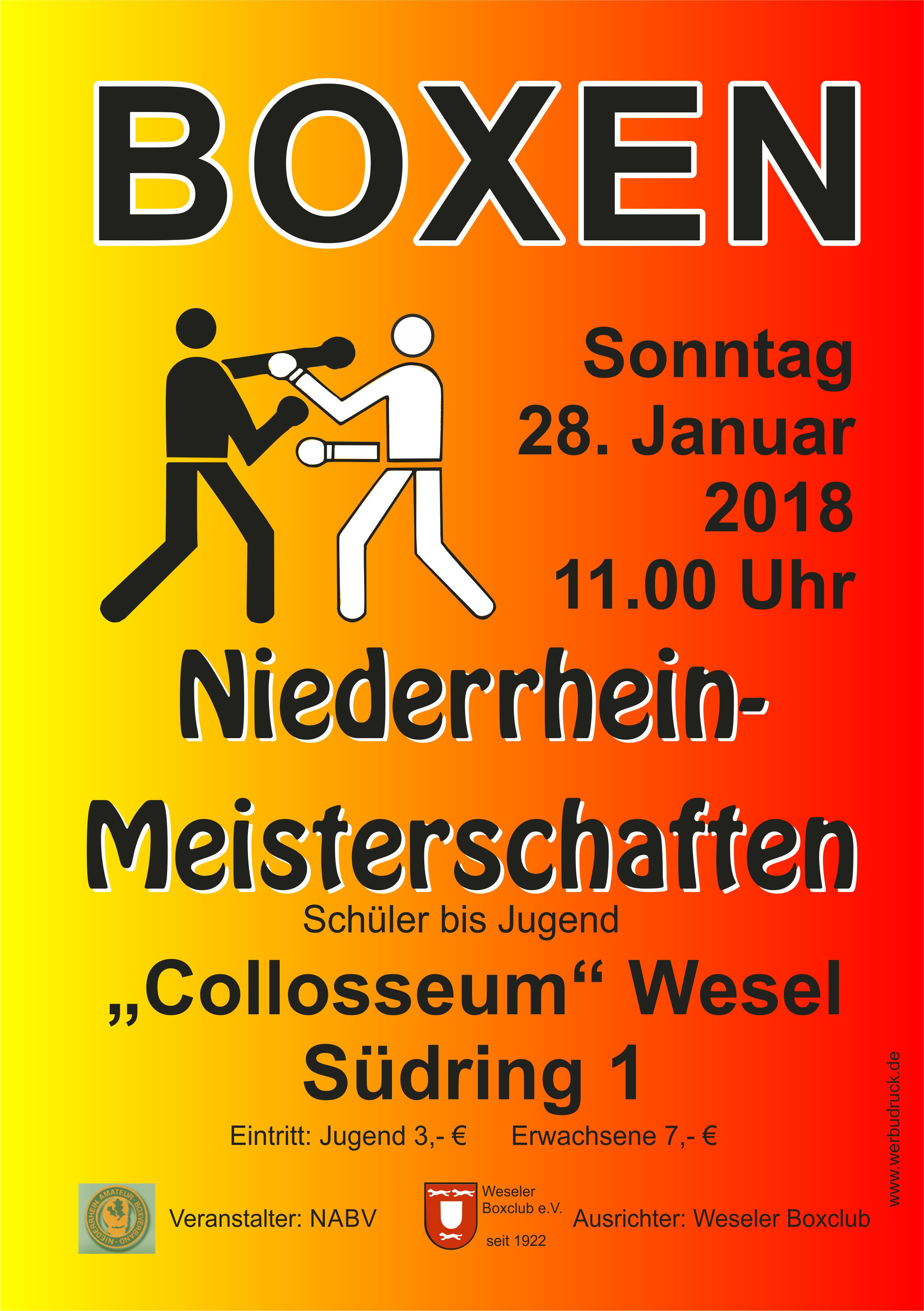 Boxen in MG