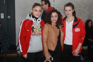 v.l.Selin, Susi Kentikian und Natalia