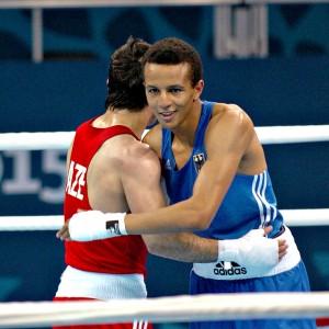Boxt auf der der WM in Doha: Hamza Touba