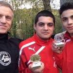 v.l. Michael Vogel, Karo Muradov und Khaled El-Jarbi