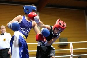 v.r. Qualid El Ouakiki, Sportwerk und Emre Büyükduran, BBC Remscheid
